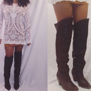 Jeffrey Campbell Knee High Boots